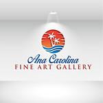 Ana Carolina Fine Art Gallery Logo - Entry #215