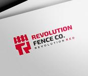 Revolution Fence Co. Logo - Entry #74