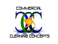 Commercial Cleaning Concepts Logo - Entry #60