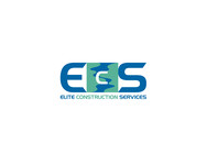 Elite Construction Services or ECS Logo - Entry #273