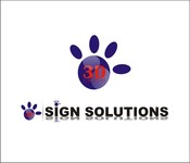3D Sign Solutions Logo - Entry #177