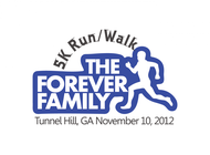 The Forever Family 5K Logo - Entry #32