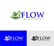 Flow Real Estate Logo - Entry #70