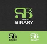 Simply Binary Logo - Entry #124