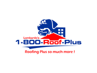 1-800-Roof-Plus Logo - Entry #149