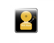 Logo for WebAlarms - Alert services on the web - Entry #29
