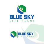 Blue Sky Life Plans Logo - Entry #8