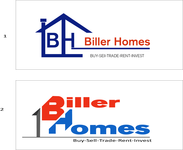 Biller Homes Logo - Entry #160
