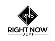 Right Now Semi Logo - Entry #156