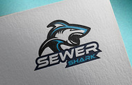 Sewer Shark Logo - Entry #107