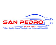 San Pedro Auto Body Logo - Entry #100