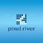 Pixel River Logo - Online Marketing Agency - Entry #64