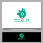 When Pigs Fly Photography Logo - Entry #44