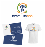 Fit Club 365 Logo - Entry #31