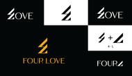 Four love Logo - Entry #351