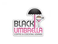 Black umbrella coffee & cocktail lounge Logo - Entry #20