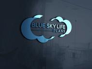 Blue Sky Life Plans Logo - Entry #376