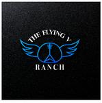The Flying V Ranch Logo - Entry #86