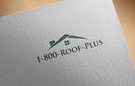 1-800-Roof-Plus Logo - Entry #90