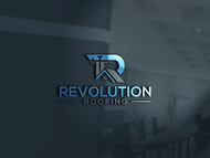 Revolution Roofing Logo - Entry #196