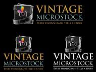 Vintage Microstock Logo - Entry #87