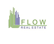 Flow Real Estate Logo - Entry #77