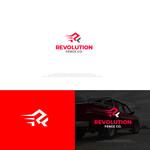 Revolution Fence Co. Logo - Entry #388