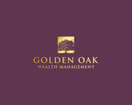 Golden Oak Wealth Management Logo - Entry #106