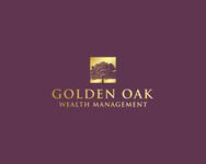 Golden Oak Wealth Management Logo - Entry #106