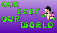 Logo for our Baby product store - Our Baby Our World - Entry #85