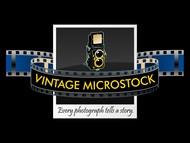 Vintage Microstock Logo - Entry #113