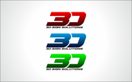 3D Sign Solutions Logo - Entry #107