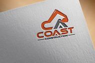 CA Coast Construction Logo - Entry #155