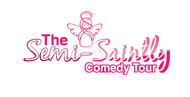 The Semi-Saintly Comedy Tour Logo - Entry #16
