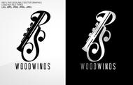 Woodwind repair business logo: R S Woodwinds, llc - Entry #110