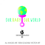 Logo for our Baby product store - Our Baby Our World - Entry #113