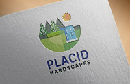 Placid Hardscapes Logo - Entry #18