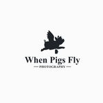 When Pigs Fly Photography Logo - Entry #39
