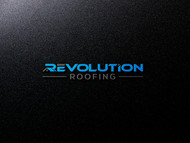 Revolution Roofing Logo - Entry #205