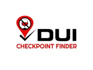 DUI Checkpoint Finder Logo - Entry #36