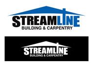 STREAMLINE building & carpentry Logo - Entry #1