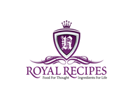 Royal Recipes Logo - Entry #29