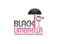Black umbrella coffee & cocktail lounge Logo - Entry #19