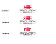 Revolution Fence Co. Logo - Entry #245
