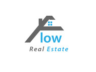 Flow Real Estate Logo - Entry #21