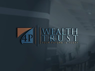 4P Wealth Trust Logo - Entry #136
