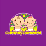 Logo for our Baby product store - Our Baby Our World - Entry #106