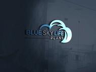 Blue Sky Life Plans Logo - Entry #341