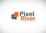 Pixel River Logo - Online Marketing Agency - Entry #102