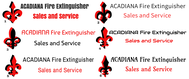 Acadiana Fire Extinguisher Sales and Service Logo - Entry #2